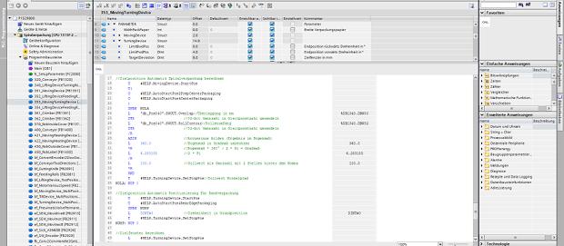 Beispiel für ein Modul aus unserer Software-Produktlinie pControl
